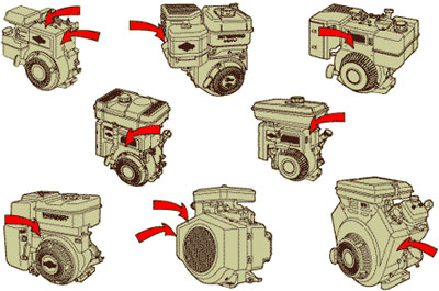 Honda 5 Hp Engine Oil Change further 181194032993 moreover 20 Hp Kawasaki Wiring Diagram further Murray 8 Hp 30 Cut Rear Engine Lawn Mower Mowers Parts together with 9 Hp Honda Small Engine Parts Diagram. on 5 hp briggs and stratton engine parts